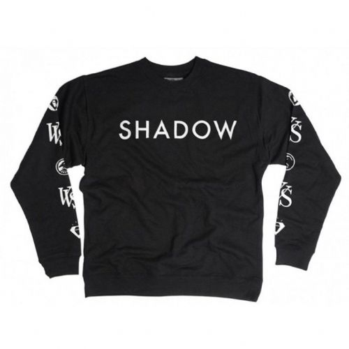 Shadow VVS Crew Sweatshirt - Black Medium
